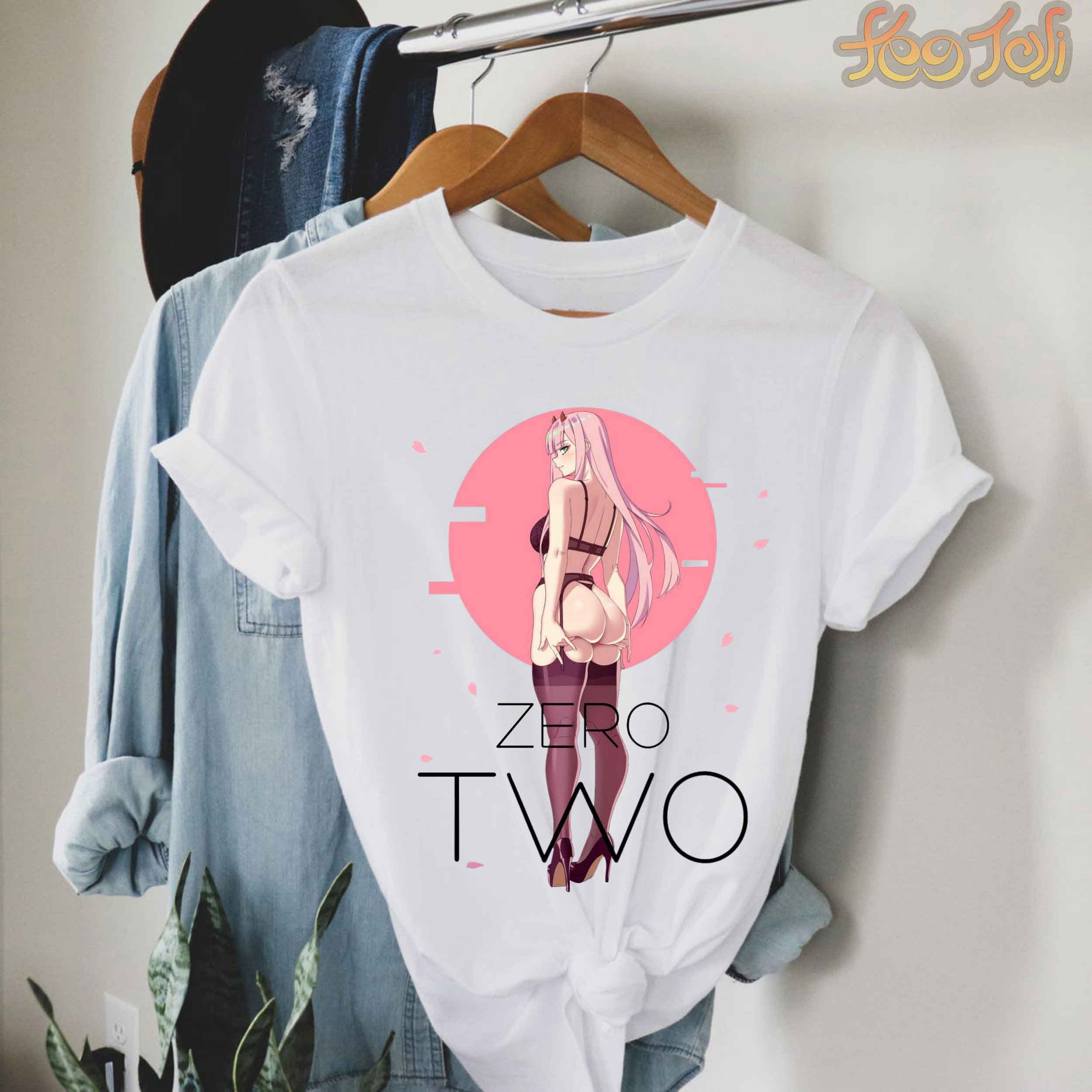 Zero Two - darling in the franxx t shirt