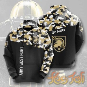 Army Black Knights Football Shirt Hoodie V2